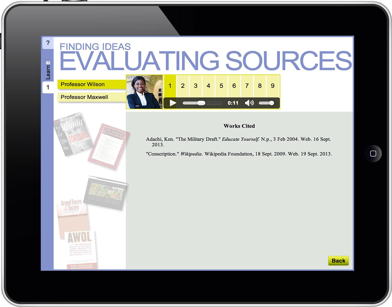 DK Handbook Evaluating Sources